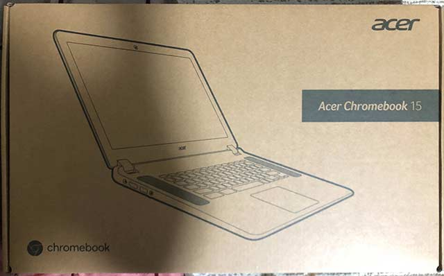 【acer CB3-532】箱