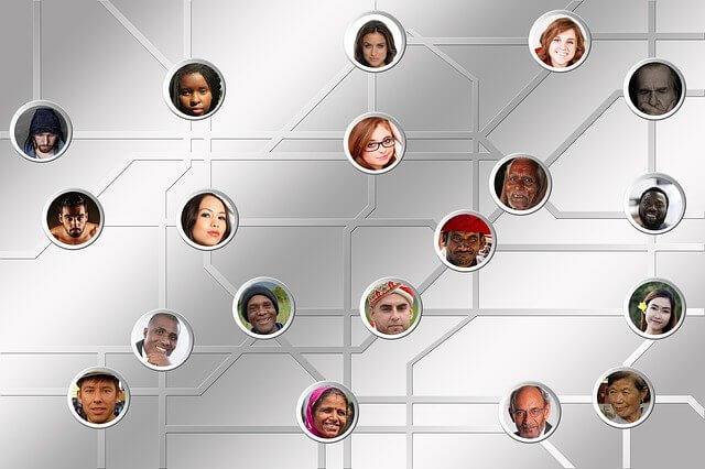 ネットワークの画像