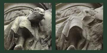 修復彫刻②